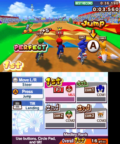 SEGA Date 3DS Games, New Screenshots