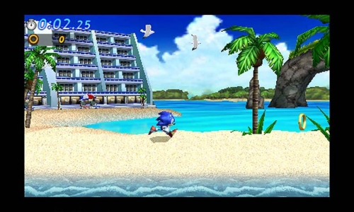 October Sonic Generations 3DS Screenshots 7