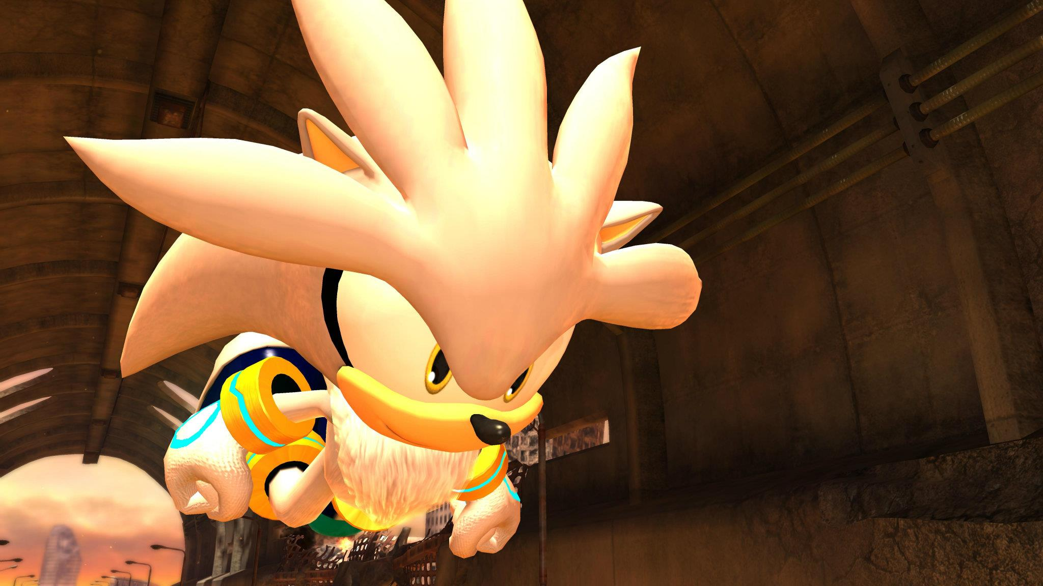 Silver the Hedgehog Rival Sonic Generations Screenshots 5