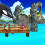 Sonic Generations 3DS Emerald Coast October Screenshots 3