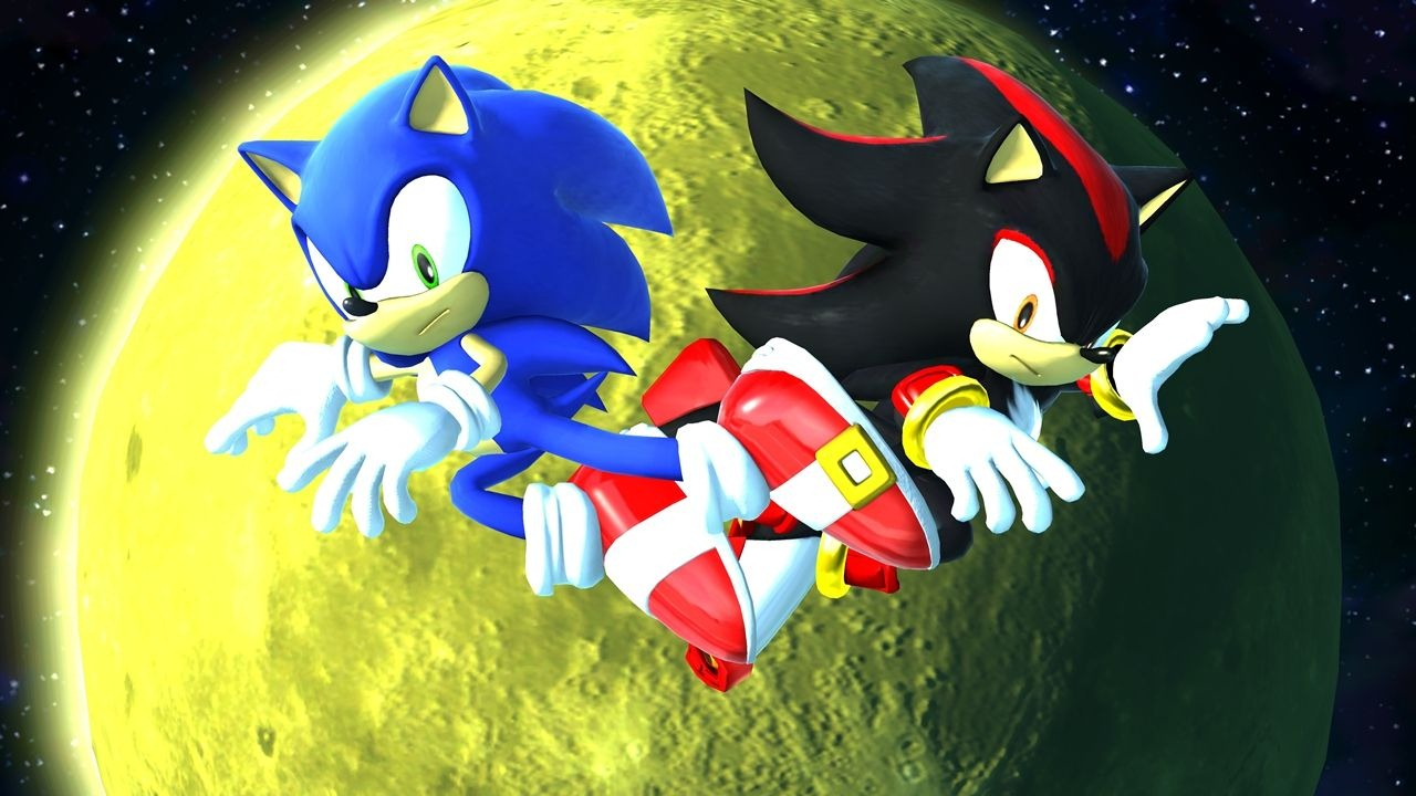 Sonic Generations HD Shadow Rival Battle 1