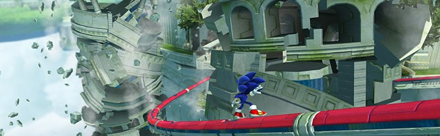 Sonic Generations: Gameplay Footage of Knuckles Race Mission