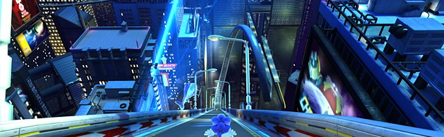Sonic Generations: New Speed Highway Screens, Radical Highway Officially Revealed