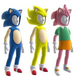 Sonic Generations Xbox 360 Avatar costume set