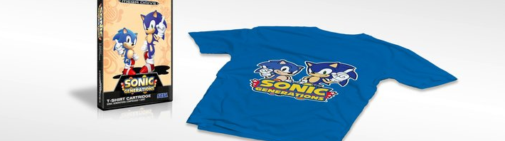 SEGA Signs VMC to Produce Sonic Accessories in the UK, Spain Gets Sonic Generations T-Shirt Pack