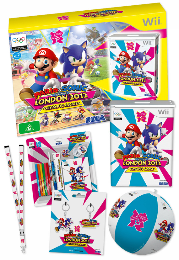 Mario And Sonic At The London 2012 Olympic games  Mario-Sonic-at-the-London-2012-Olympic-Games-Collectors-Edition