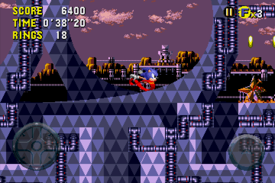 Sonic CD port screenshots 8