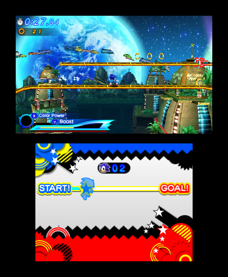 Sonic Generations 3DS Screenshots 17
