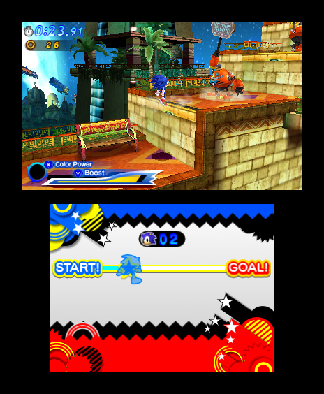 Sonic Generations 3DS Screenshots 18