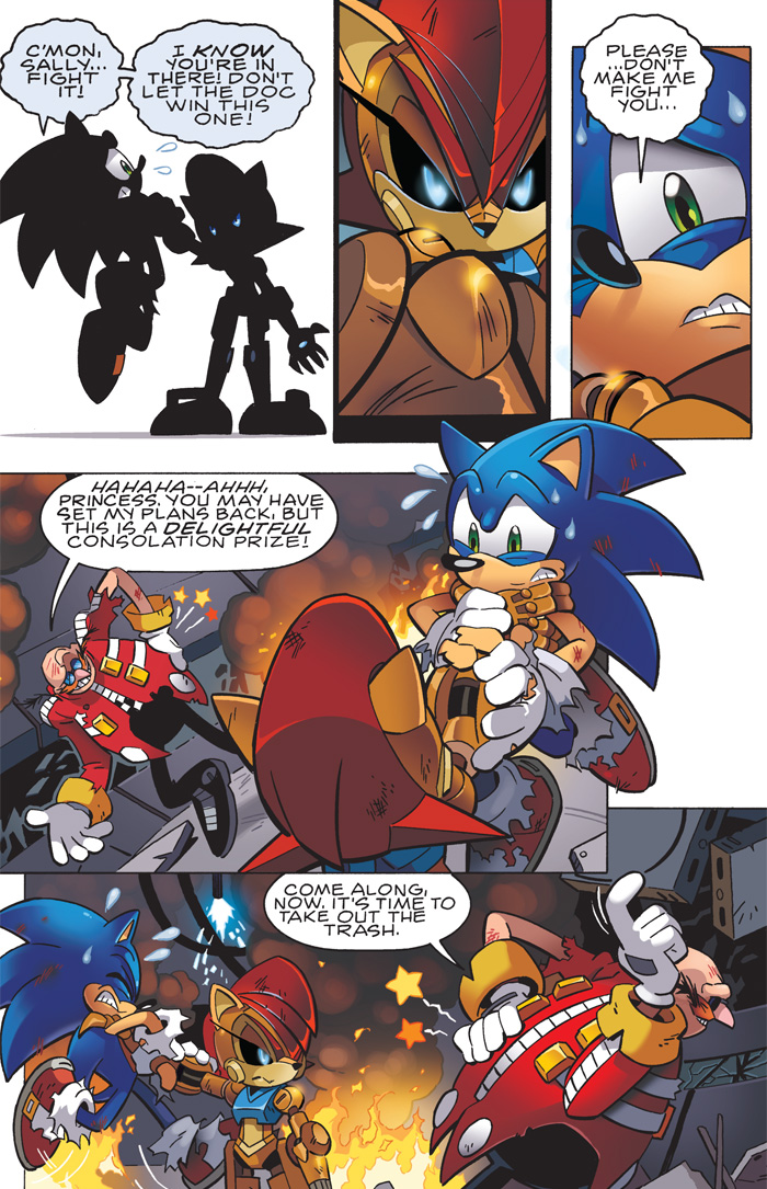 Archie Sonic Comic Issues 230 231 Review Lost In The Moment The Sonic Stadium