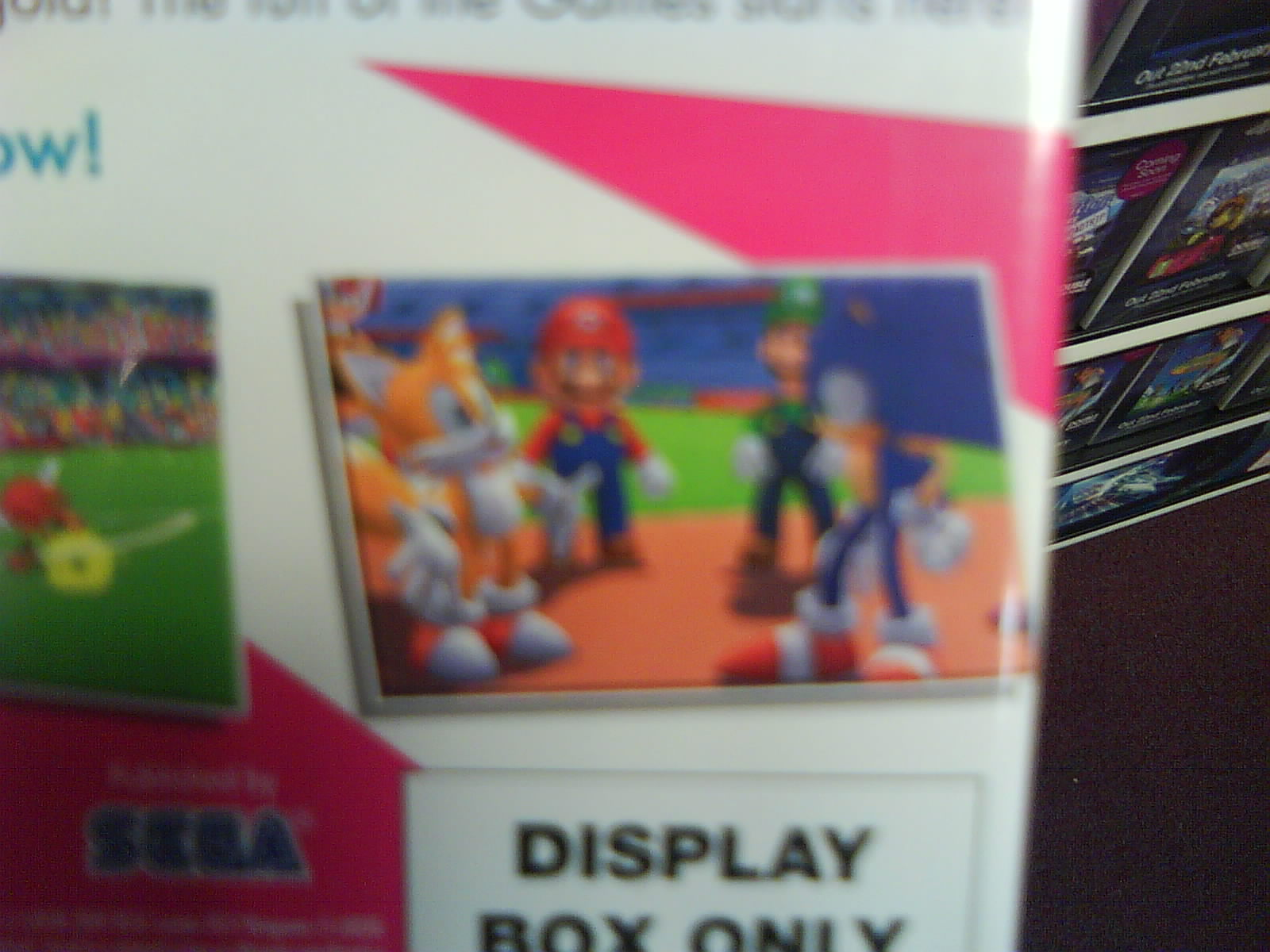 Mario & Sonic London 2012 3DS Display Case 3