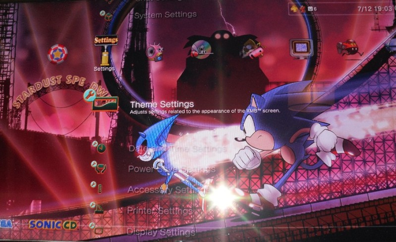 I keep trying out different PS3 themes  But I always keep
