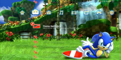 Sonic Generations PS3 Dynamic Theme 2 – The Sonic Stadium