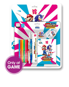 Free Stationery Kit With M&S 2012 3DS Pre-orders at GAME Group Retailers