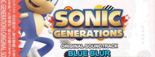 Sonic Generations OST Releases in Japan