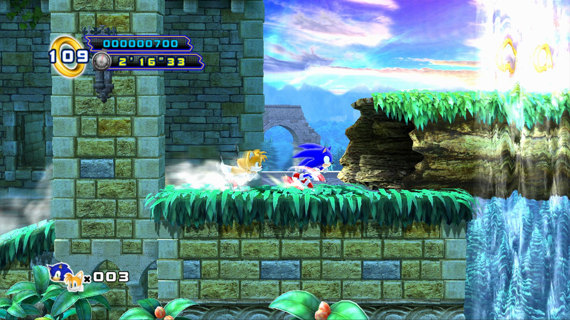 tails limited to 2 player mode in sonic 4 episode 2 the sonic stadium. Black Bedroom Furniture Sets. Home Design Ideas