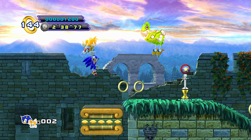 Sonic 4 Episode 2 Zone 1 Act 2 Screen 3