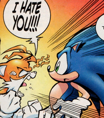 Congratulate, Sonic and female tails kiss