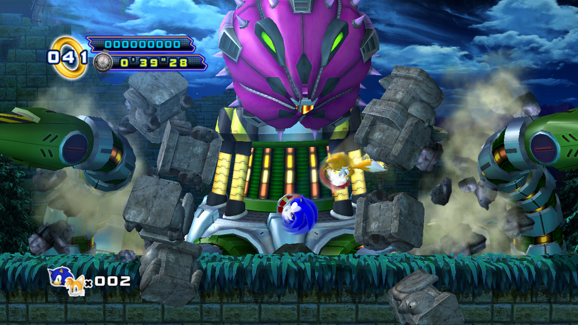 new sonic 4 episode 2 screenshots show boss fights the sonic stadium. Black Bedroom Furniture Sets. Home Design Ideas