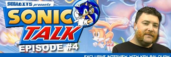 Sonic Talk's Interview With Ken Balough Now Up