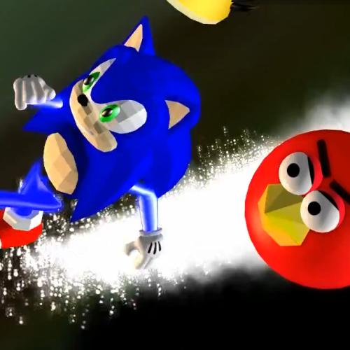Freak Out Friday – Sonic Birds vs Eggman Robotnik… Pigs?