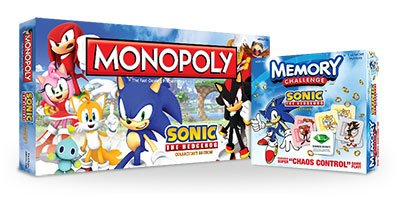 USAOpoly Reveals the Sonic Monopoly Board!