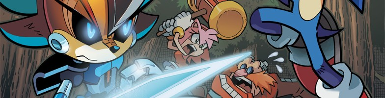 """Sonic Comic Review: Sonic the Hedgehog #237 and #238 """"Loyalty"""""""