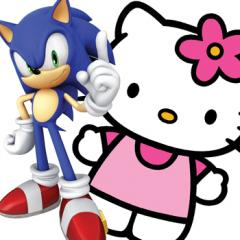 Sonic & Hello Kitty