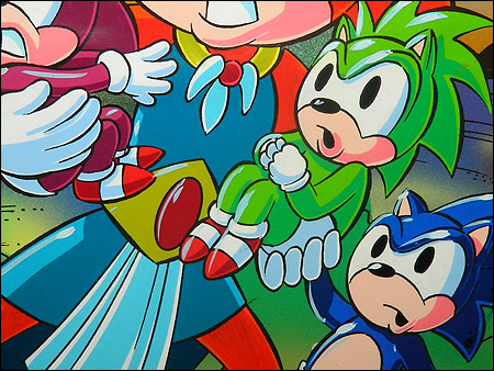 Freak Out Friday The Original Sonic Underground Concept