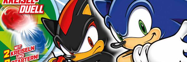 Panini Releases New Sonic Magazine In Germany