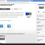 ASR Transformed PS Vita Sony product page