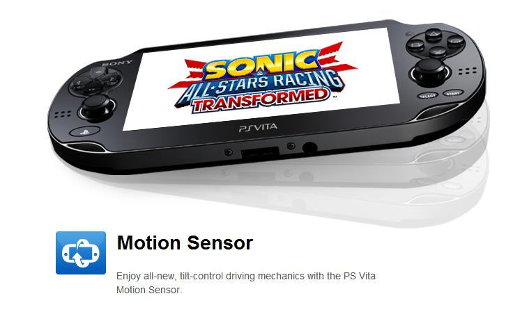 ASR Transformed PS Vita motion sensor