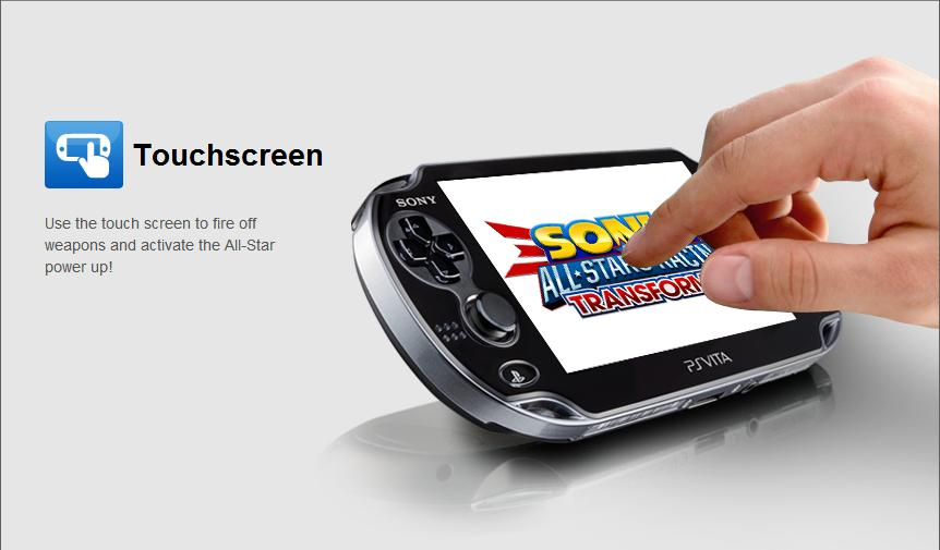 ASR Transformed PS Vita touchscreen