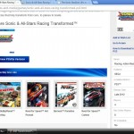 ASR Transformed PS3 Sony product page