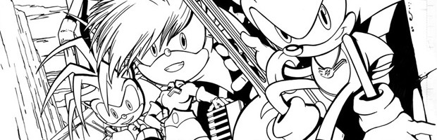 Sonic Underground Getting Epilogue in Sonic Universe #50