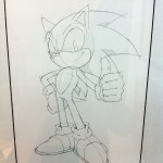 London Games Festival Art Exhibition - Sonic Close Up