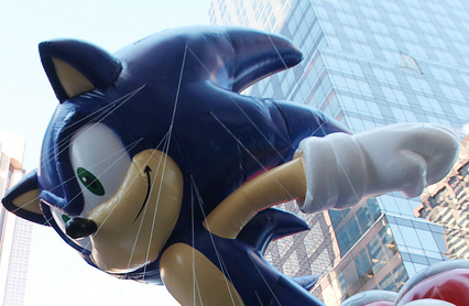 Sonic Returns To Macy's Thanksgiving Day Parade
