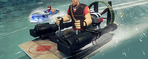 Sonic & All-Stars Racing Transformed for PC gets a Team Fortress 2 Trio and More!