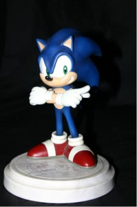 Sonic 10th anniversary figurine