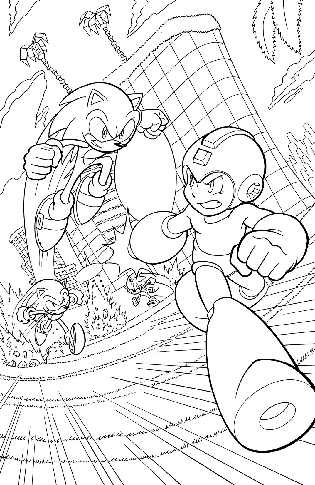 get a free preview of mega man  24  worlds collide   u2013 the