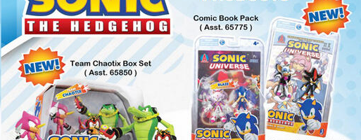 Jazwares Announces Even More New Sonic Toys