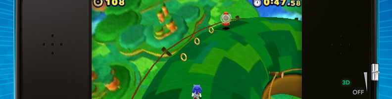 SEGA Releases Sonic Lost World 3DS Trailer