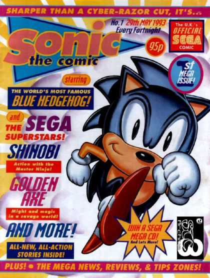 20 Years of Sonic the Comic