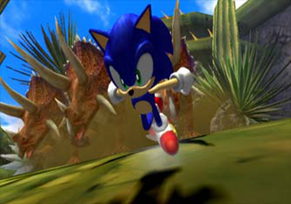 Screenshot from Sonic and the Secret Rings