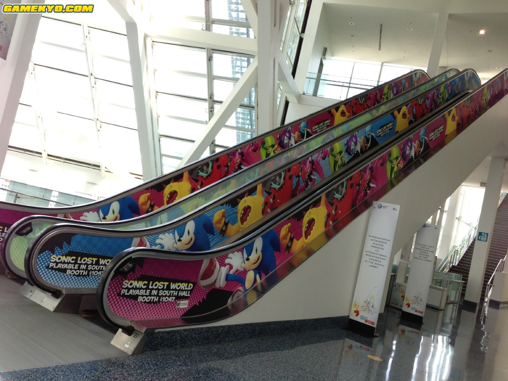 TSS Review: This LA Convention Centre Escalator