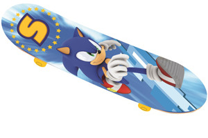 Sega Announces Sonic Themed Bikes, Skateboards, Scooters & A Range of Outdoor Products For 2013