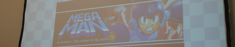 Images from the Sonic/MegaMan panel