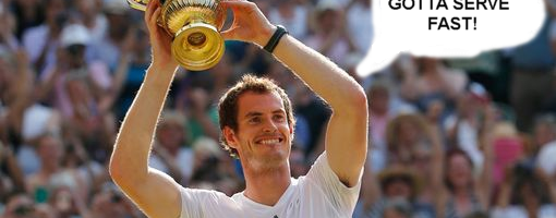 Wimbledon Champion Andy Murray Plays Sonic Games Before Big Matches