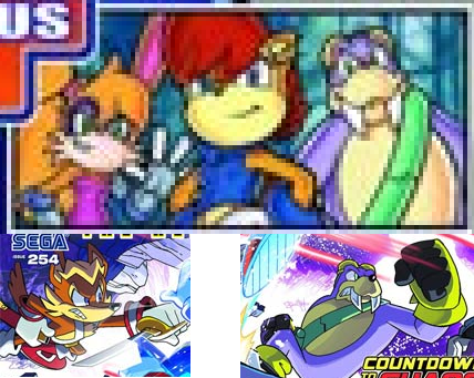 Sonic Lost World Comic & Archie Cast Redesigned?