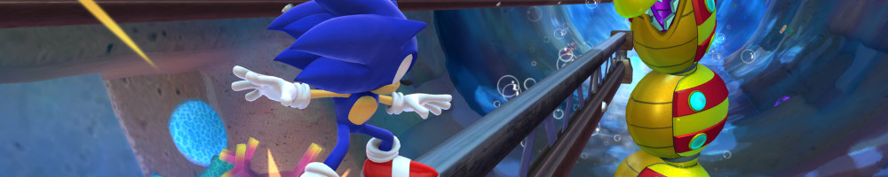 Sonic Lost World Deadly Six Edition Revealed, New Screenshots